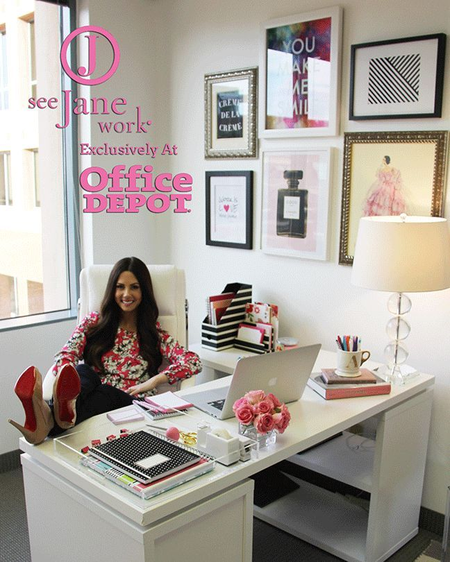 Best The Sorority Secrets Workspace Chic With Office Depot See This Month