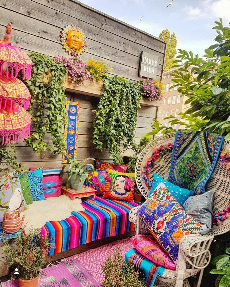 Best Bohemian Style Outdoors Boho Gypsy Hippie Decor In This Month