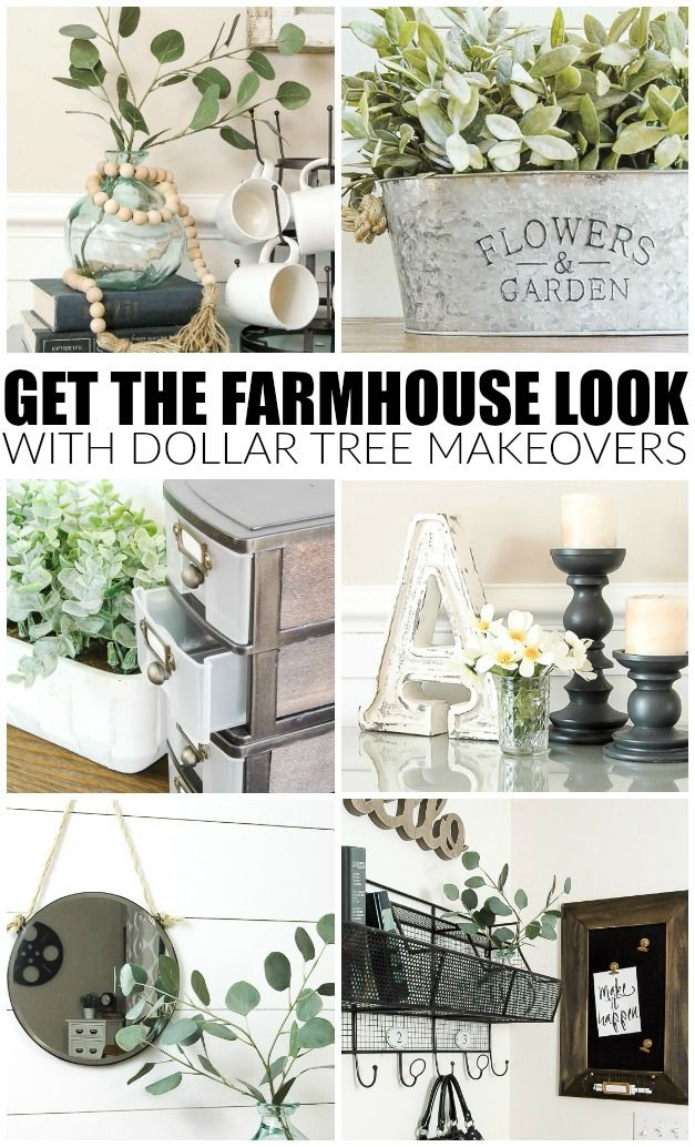 Best How To Get The Farmhouse Look With Dollar Tree Items In This Month