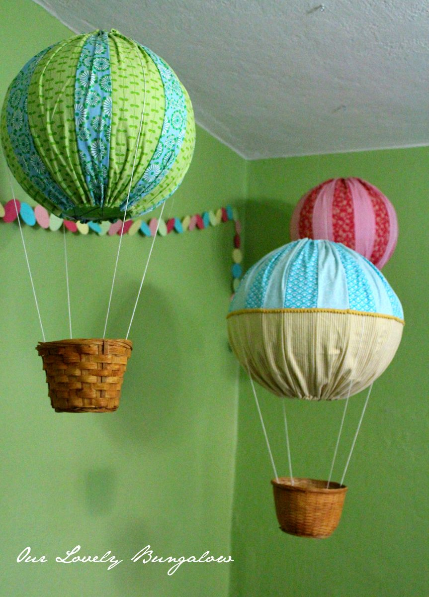 Best Hot Air Balloons Decor Found The Idea Of Using Paper This Month