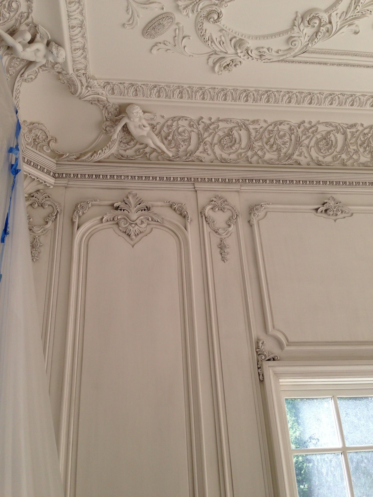 Best Hand Carved Boiserie Living Room By Auffrance With Plaster This Month