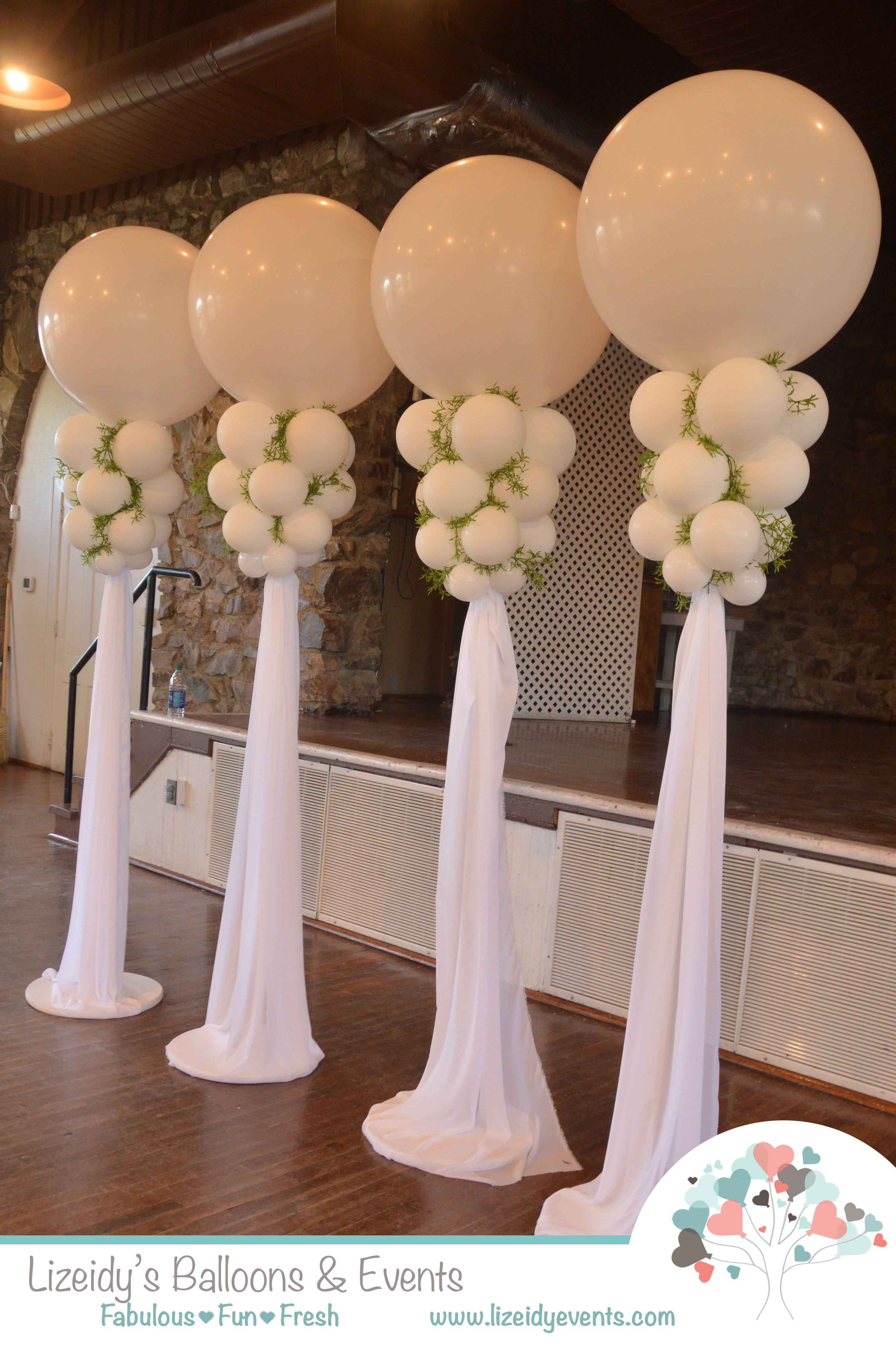 Best Elegant Wedding Decor With Big Latex Balloons Now There This Month