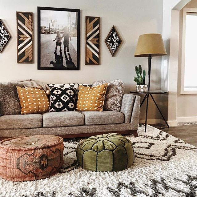 Best Patterned Fluffy Neutral Rug Apartment Design Aztec This Month