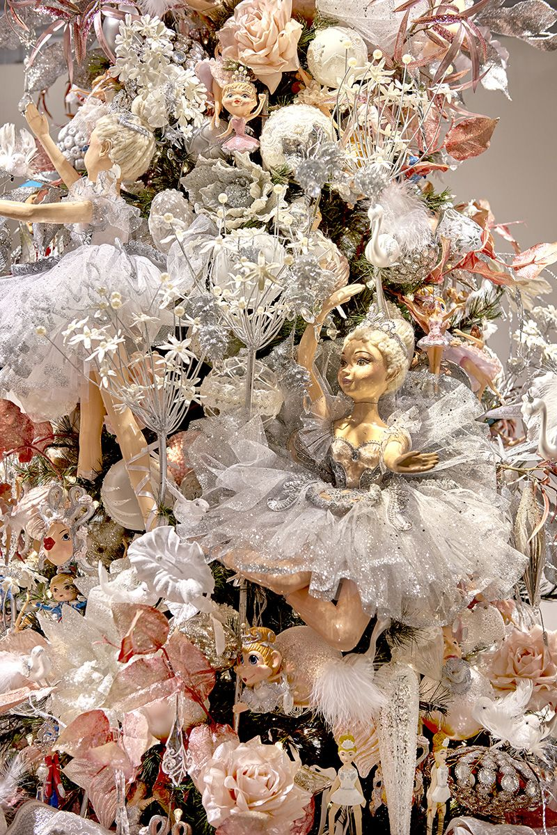 Best Beautiful Ballerina Doll On A Ballet Themed Christmas Tree This Month