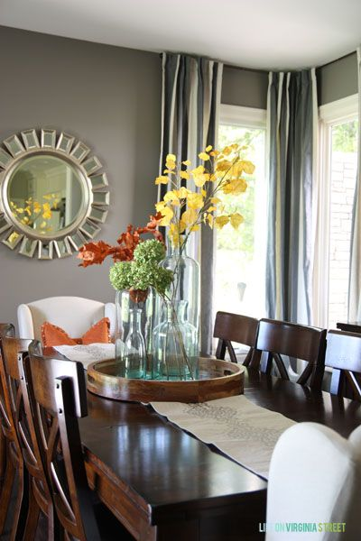 Best Fall Home Tour Diy Ideas Dining Room Table This Month