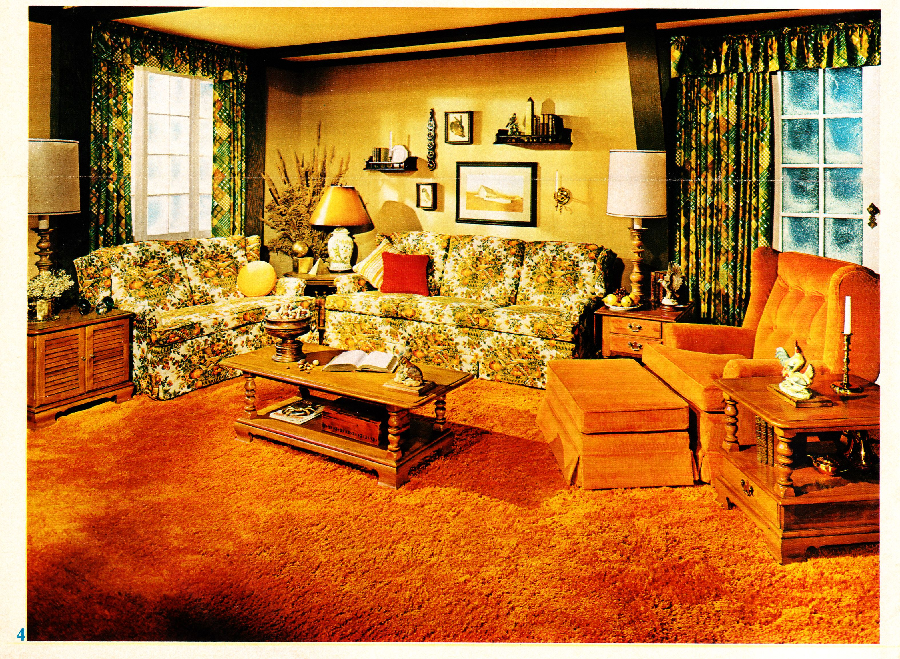 Best Interior Desecrations A 1975 Home Furnishing Catalog This Month