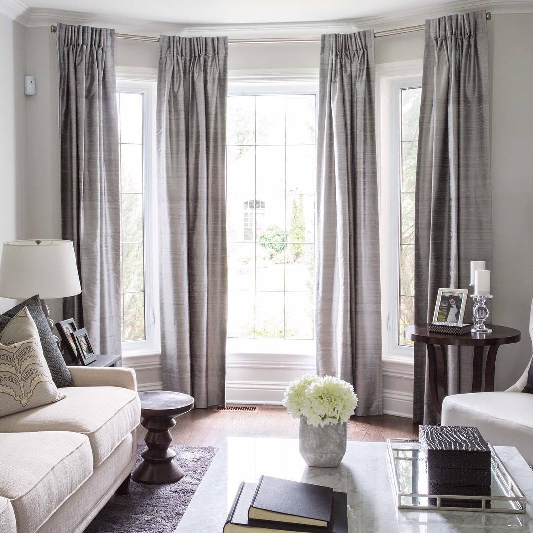 """Best """"Lovely Bay Window Treatment Off Center Window Can Still This Month"""