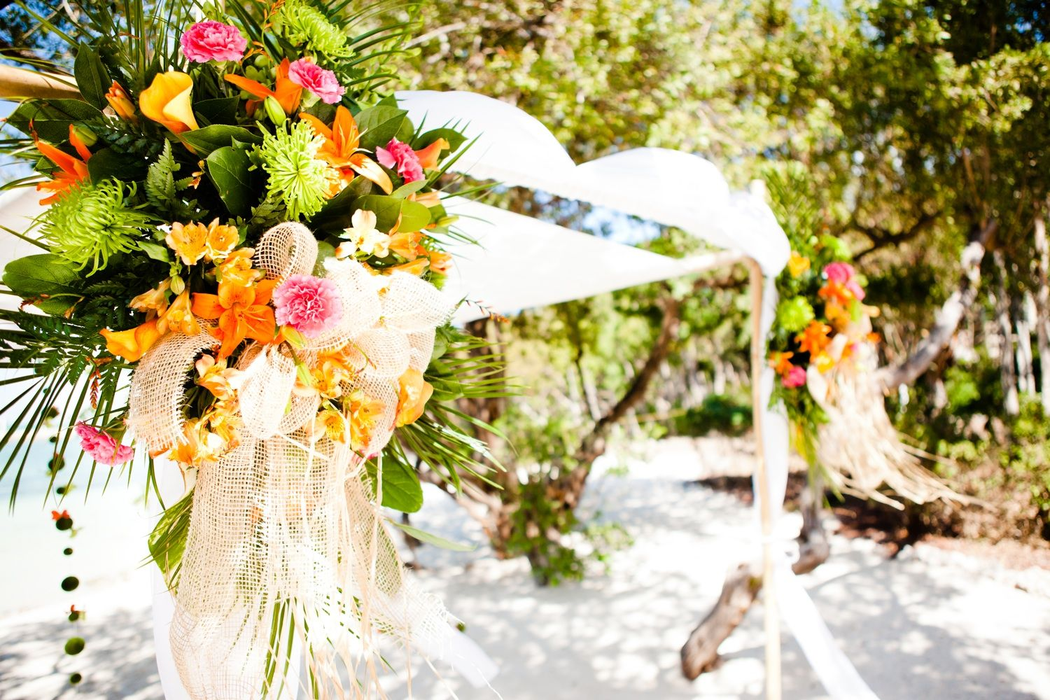 Best Tropical Wedding Reception Decor With A Beach Theme And This Month