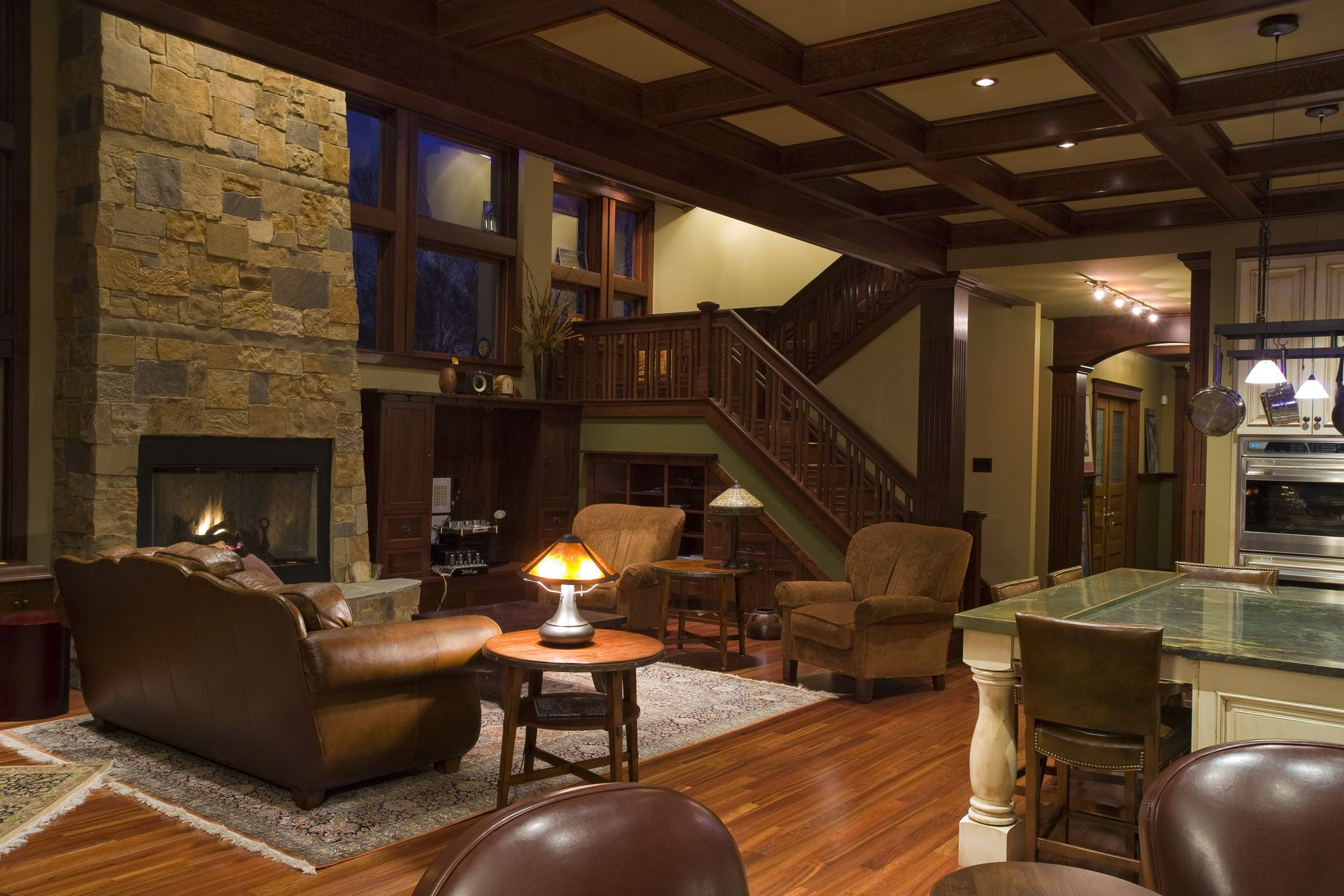 Best Craftsman Style Living Room Home Craftsman Style Homes This Month