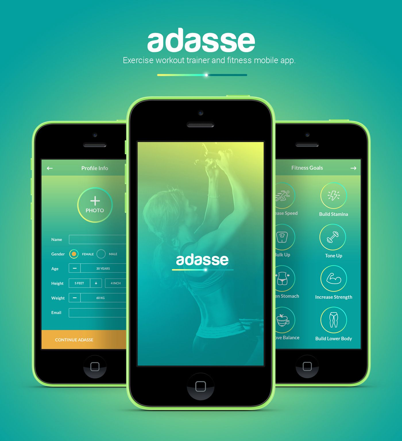 Best Adasse Gym Workout Mobile App By Naresh Kumar Ui Design This Month