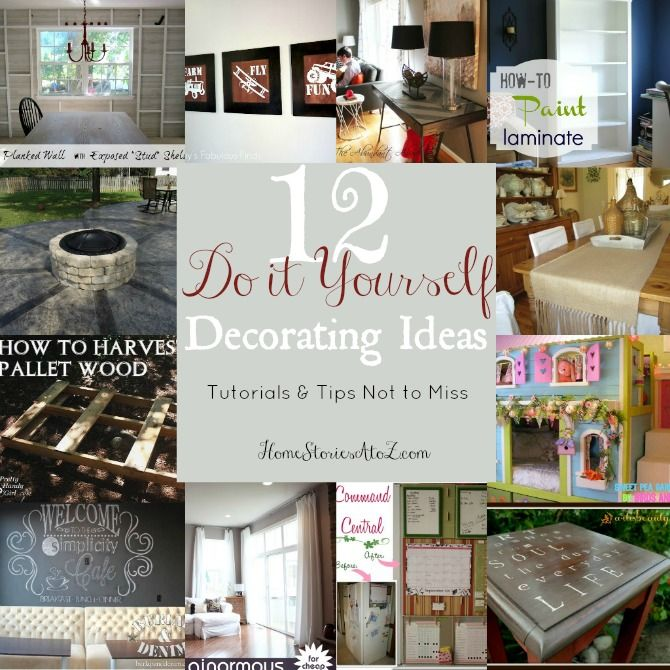 Best 12 Do It Yourself Decorating Tips Tutes Tips Not To This Month