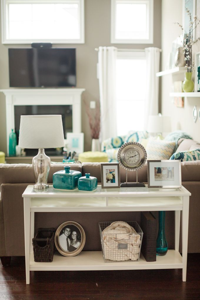 Best Katelyn James Photography Dream Home Sofa Table Decor This Month