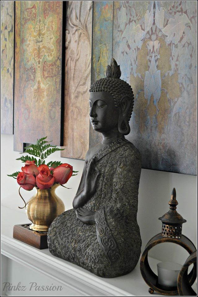 Best Buddha Décor Home Décor Buddha Vignette My Dreamy Home This Month
