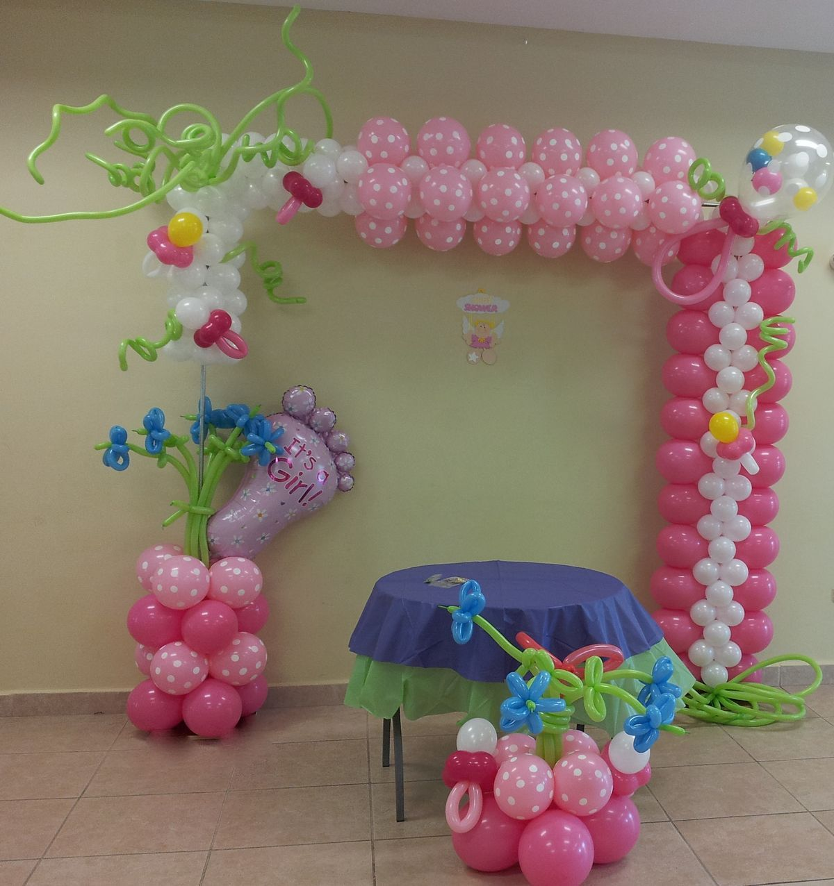 Best Baby Shower Balloon Arch Balloons Baby Shower Balloon This Month