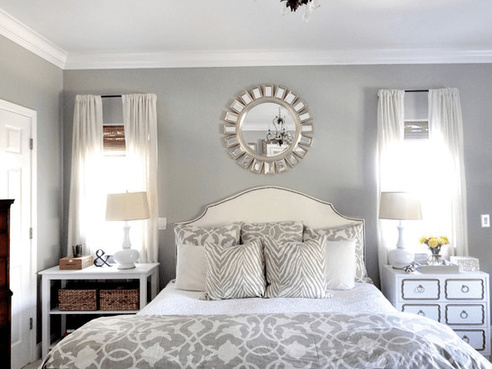 Best Romantic Master Bedroom Decorating Ideas Blue Grey White This Month