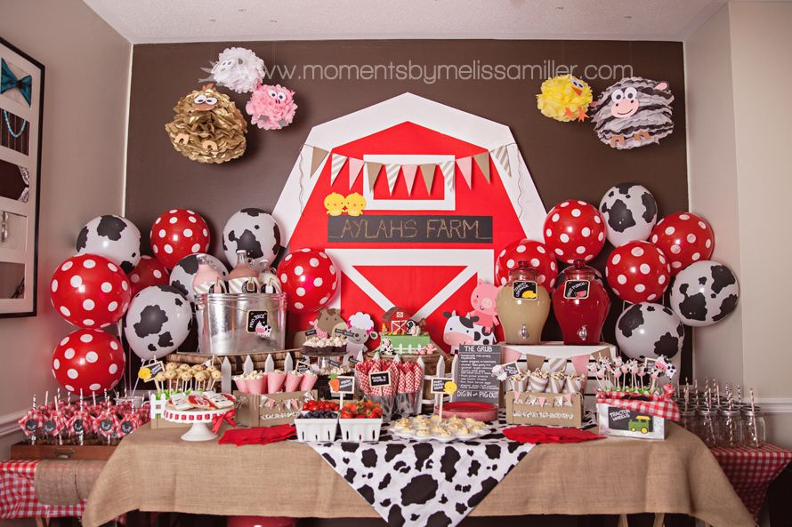 Best Farm Theme Birthday Party Girl Toddler 2 32 Parties In This Month