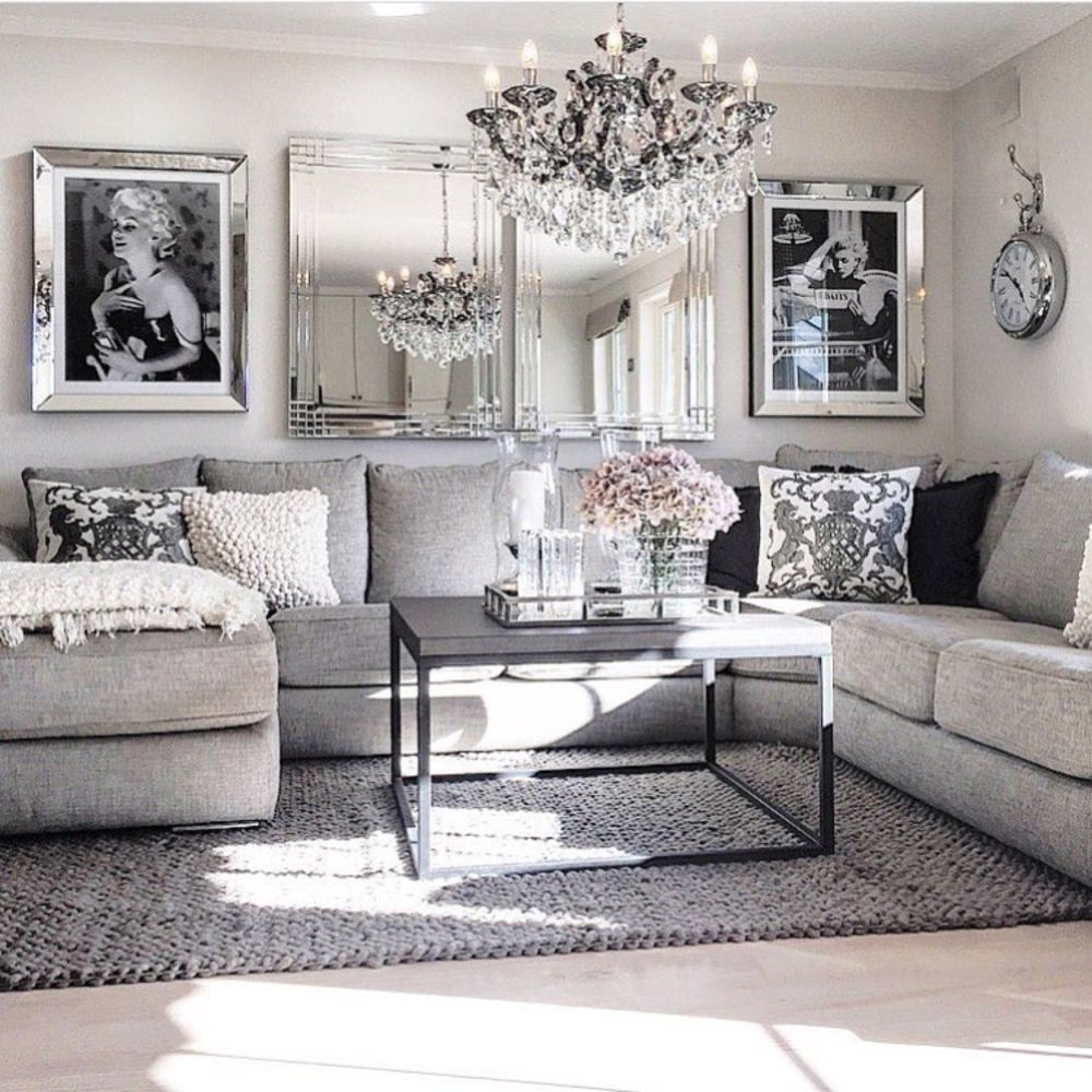 Best Modern Glam Living Room Decorating Ideas 19 Is Where This Month
