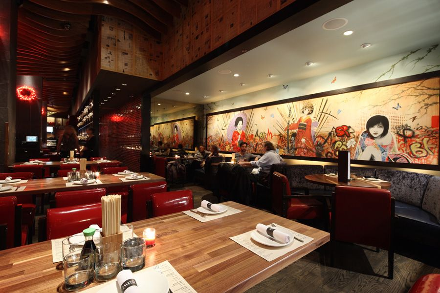 Best Decorating Attractive Japanese Restaurant Modern Design This Month