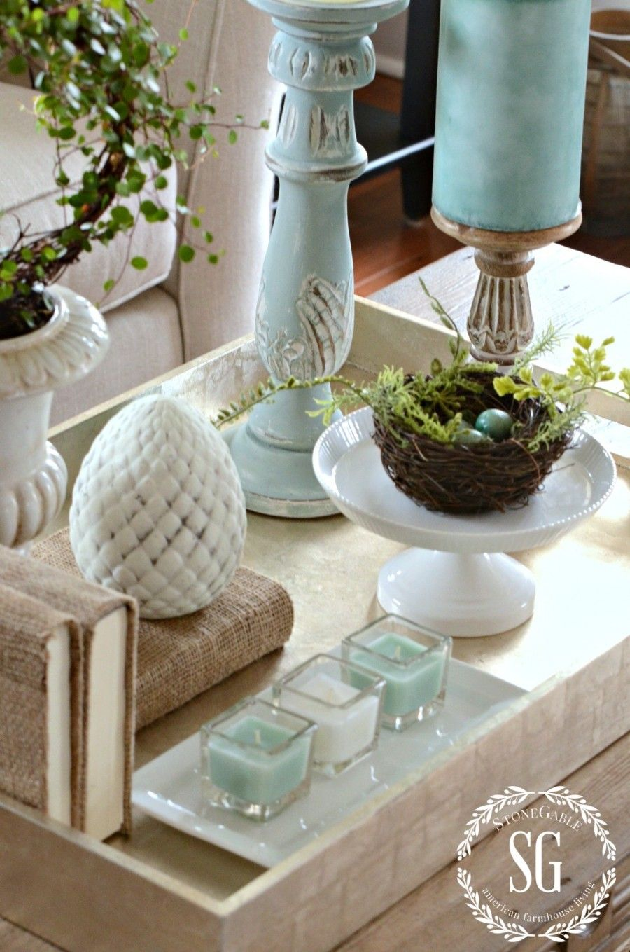 Best Enchanting Cream Rectangle Cottage Wood Decorative Trays This Month