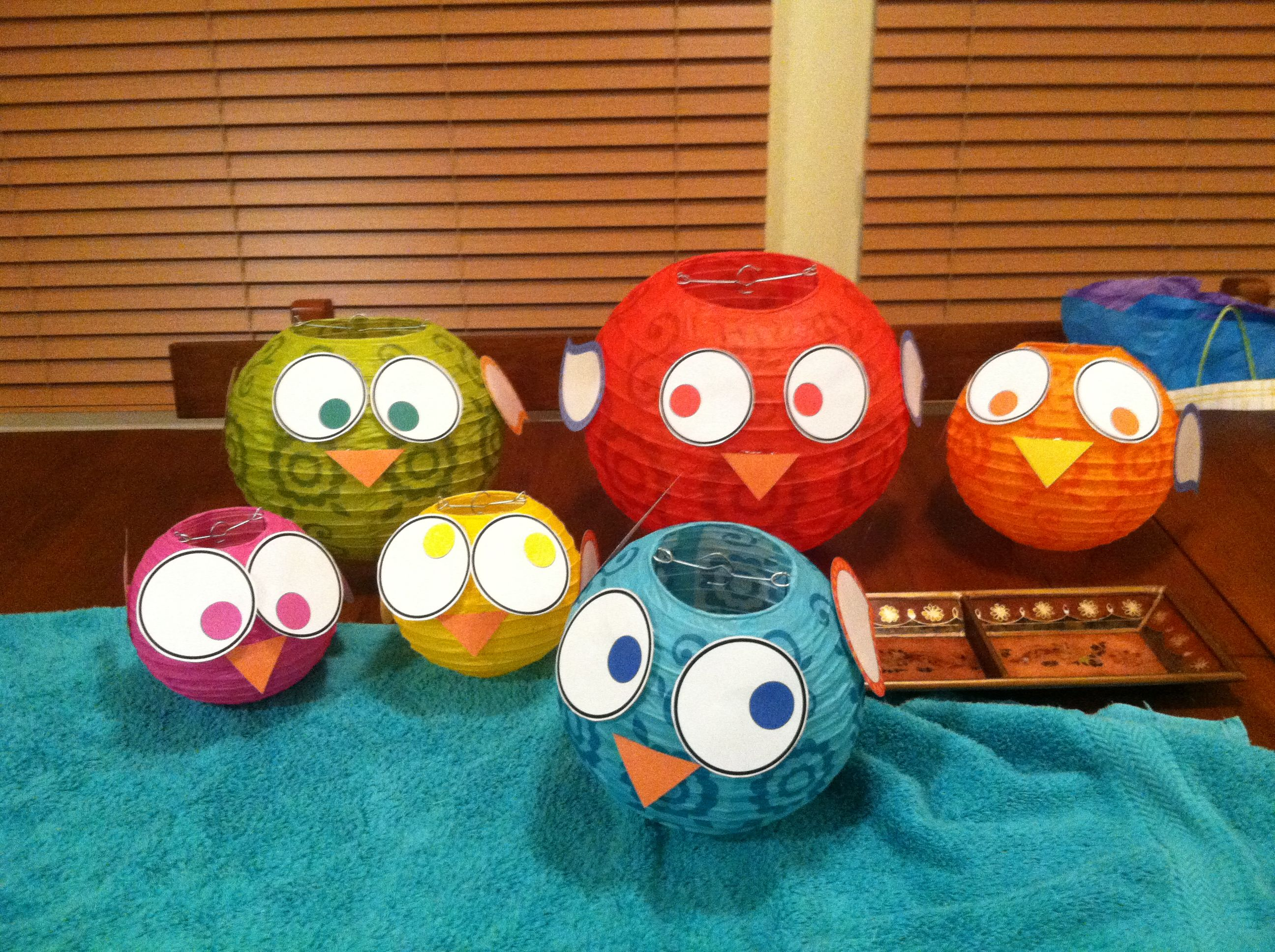 Best Cute Bird Lanterns For Classroom Classroom Owl Theme This Month