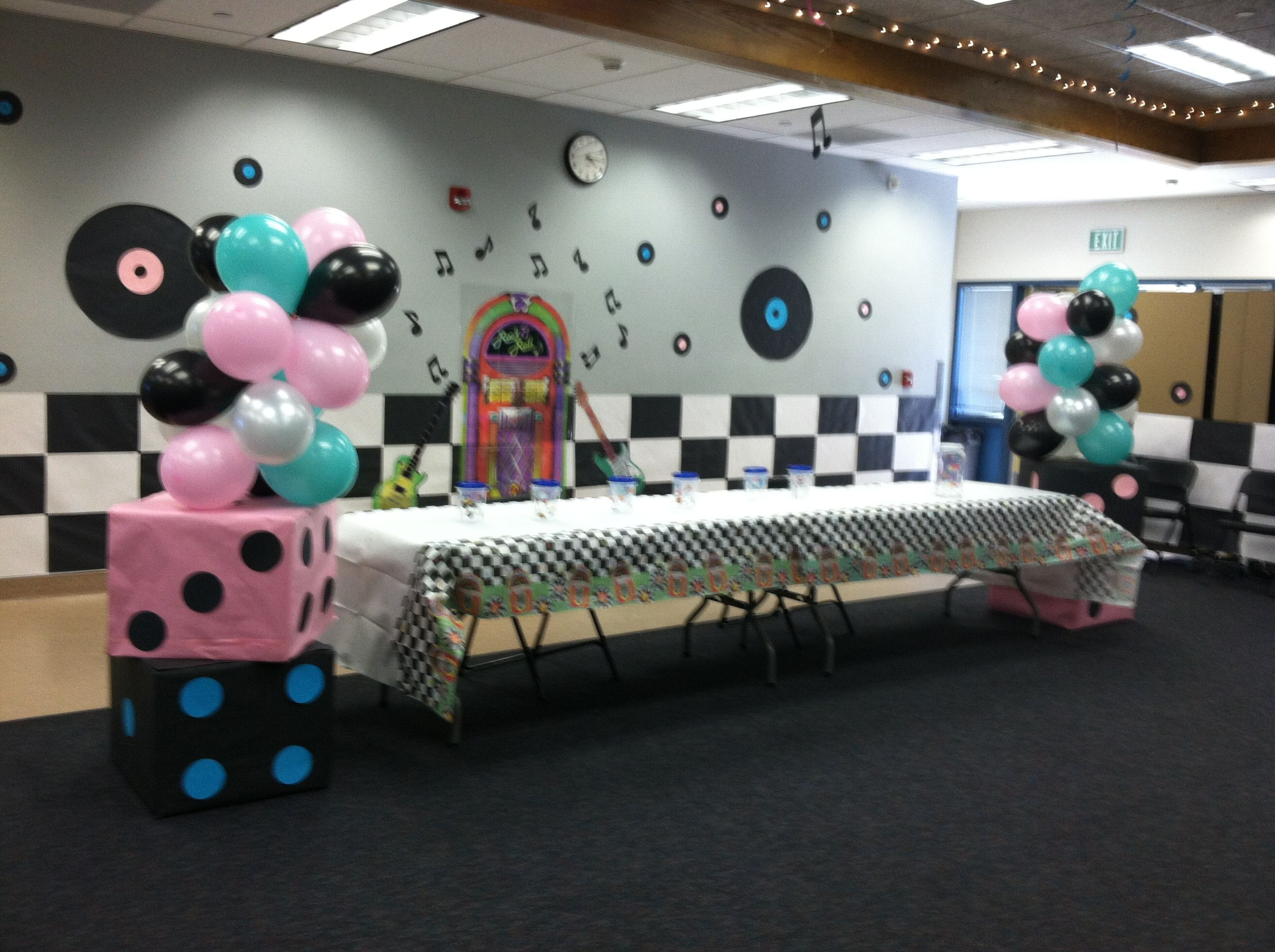 Best 50 S Decoration Party Ideas In 2019 Dance Decorations This Month