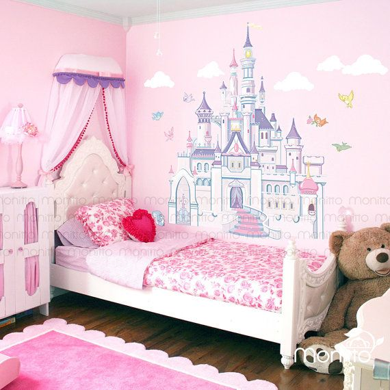 Best Disney Princess Castle With Colorful Birds And Squirrel This Month