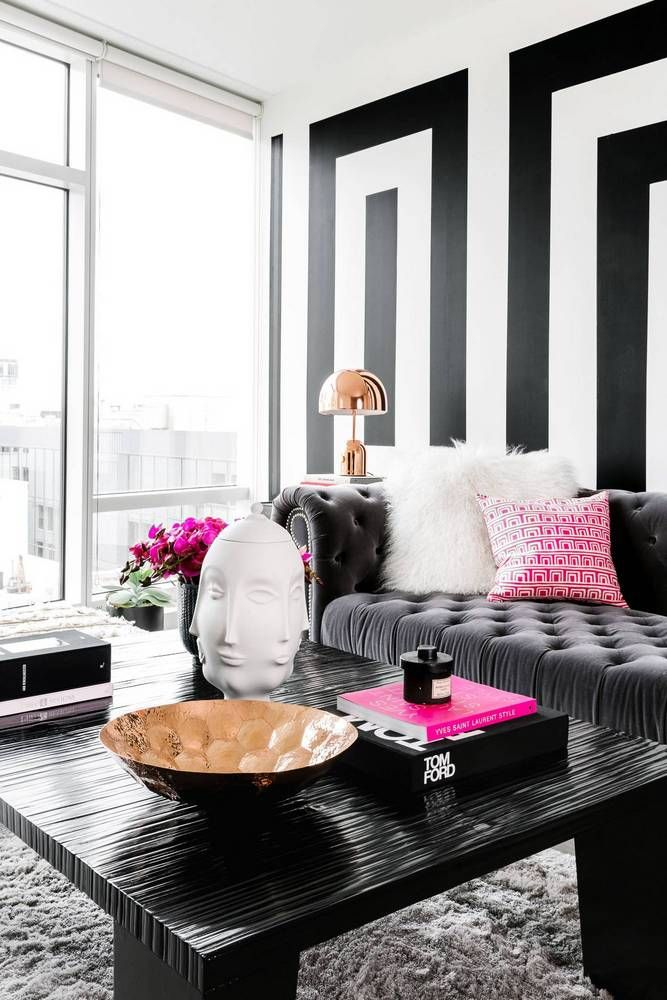 Best Black And White Modern Home Decor Ideas Living Rooms This Month