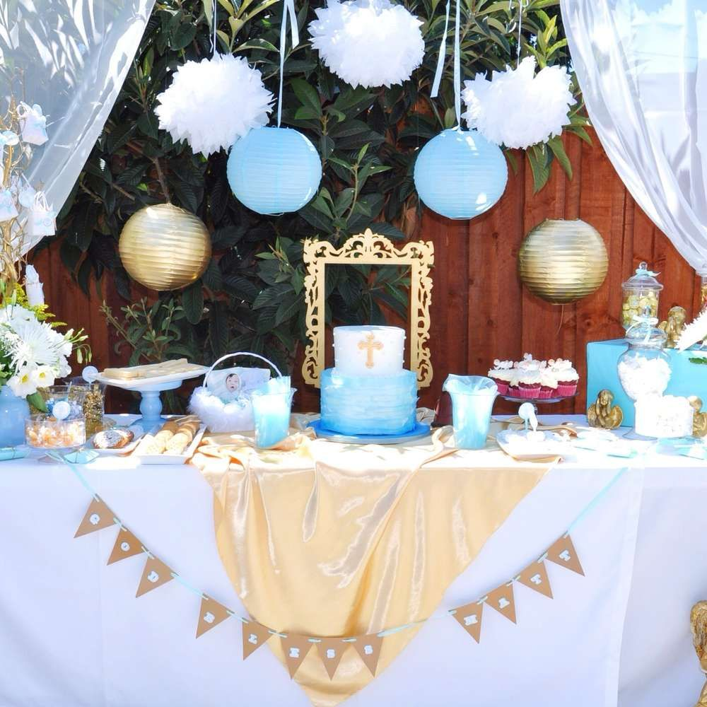 Best Angel Themed Baptism Baptism Party Ideas Baptism Party This Month