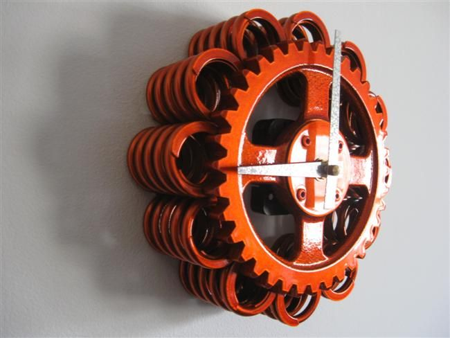 Best Cool Automotive Wall Art Recycled Engine Parts Clock This Month