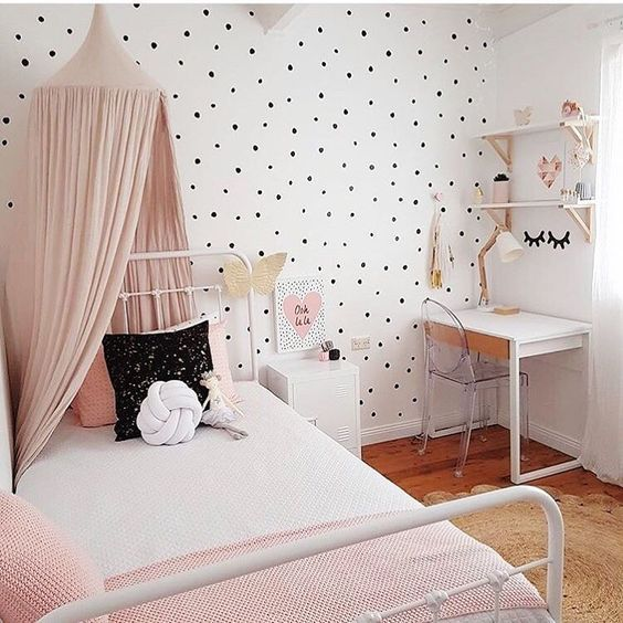 Best Polka Dot Kids Room Design Ideas Kids Room Ideas This Month