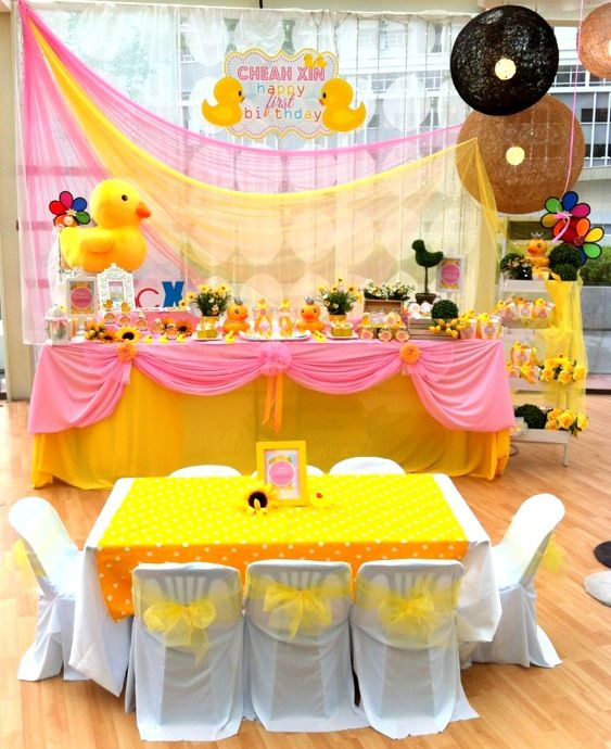 Best Yellow Duck S Theme Party By Birthday Castle Entertainment This Month
