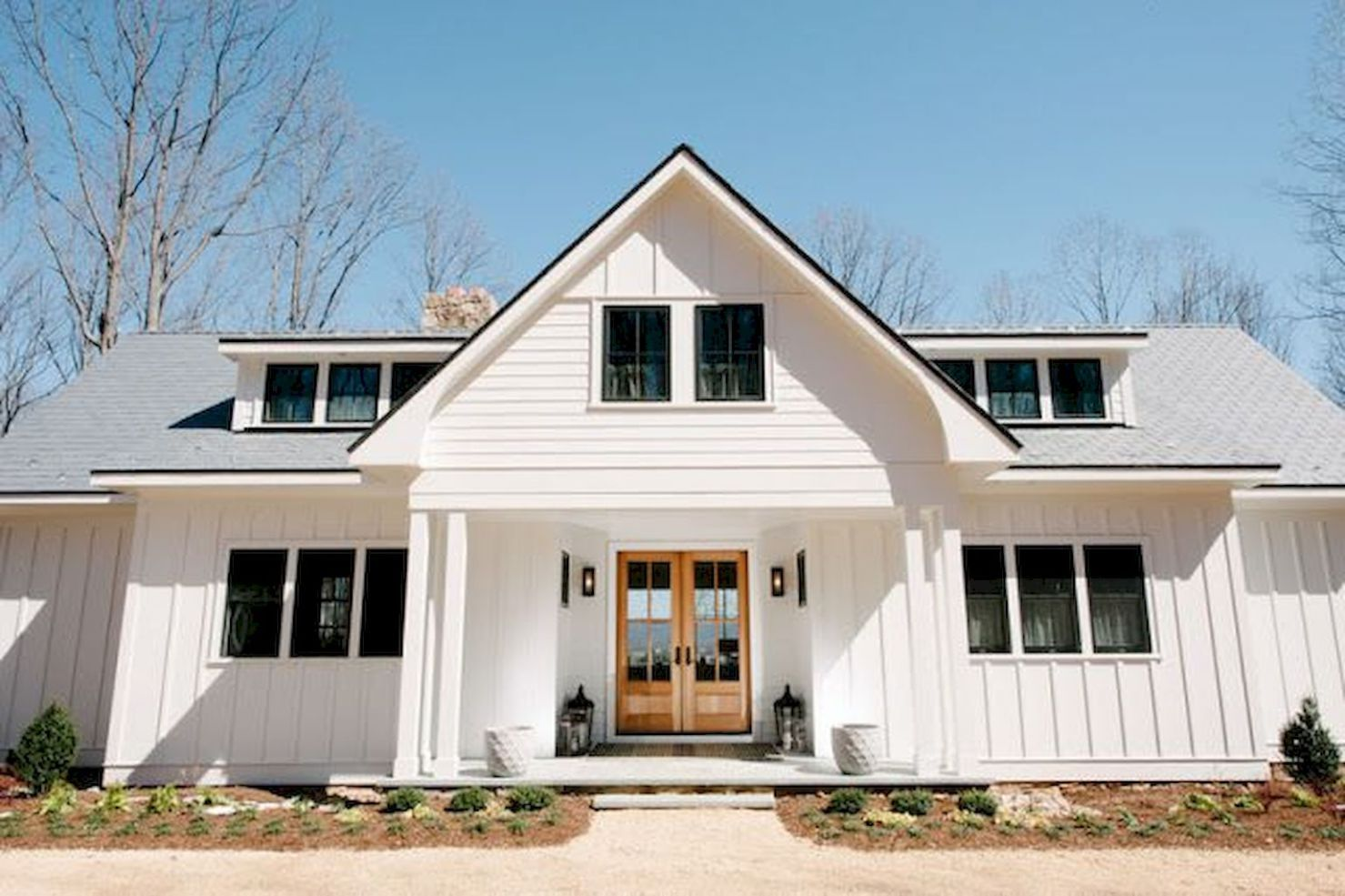 Best 90 Incredible Modern Farmhouse Exterior Design Ideas 38 This Month