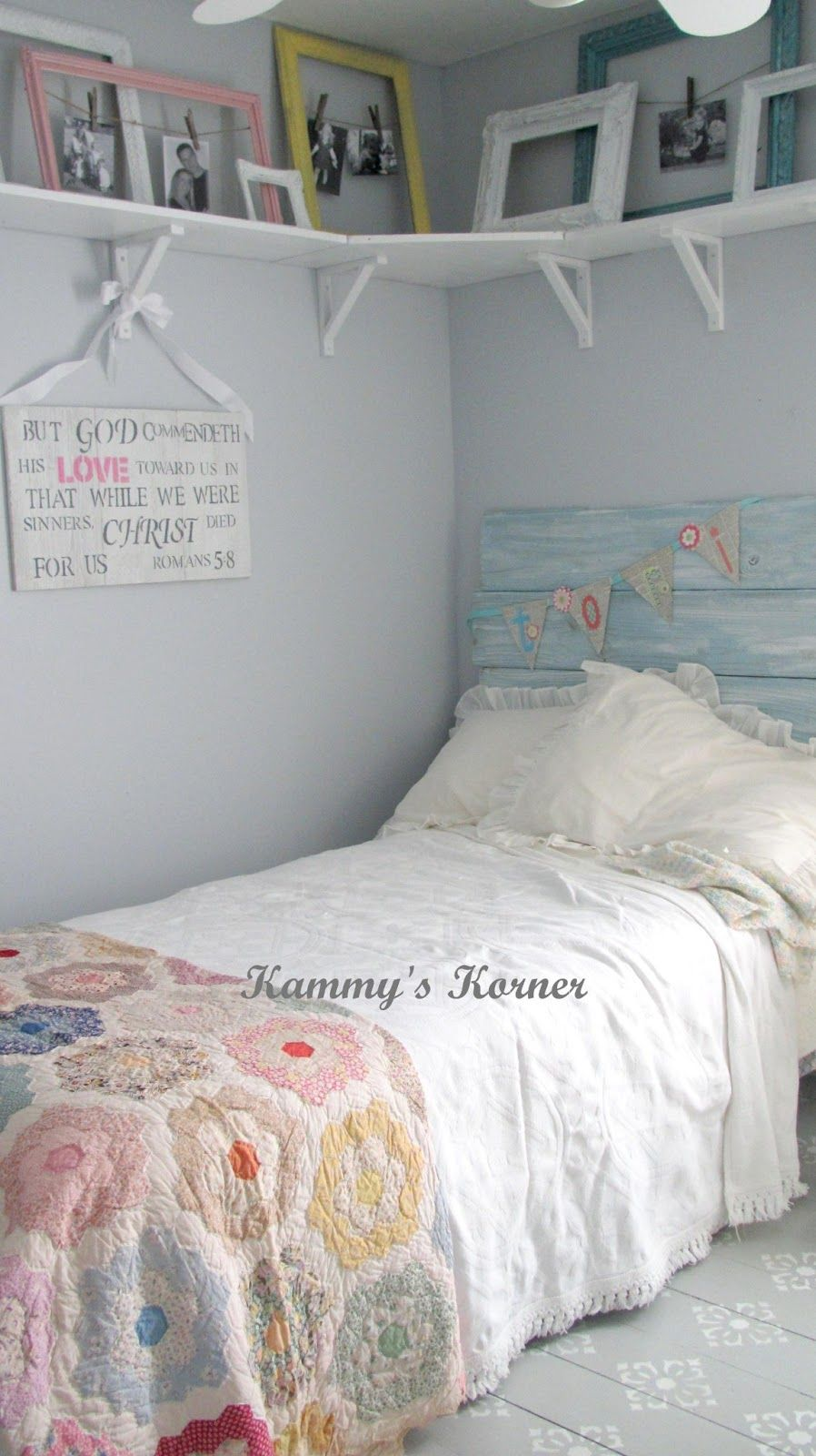 Best Tori S Shabby Chic Big Girl Room Reveal Before And This Month