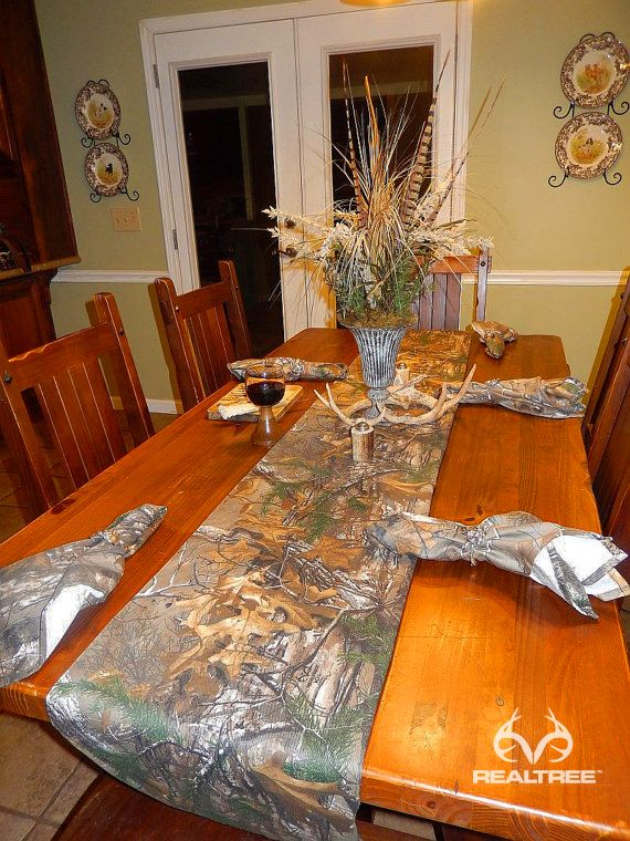 Best Realtree Xtra Camo Dinning Table Decoration Harvest This Month