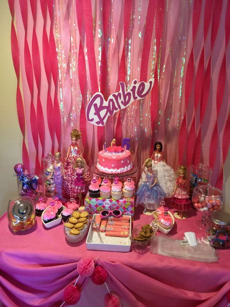 Best Barbie Sparkle Birthday Party See More Party Ideas At This Month