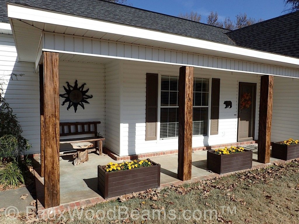 Best Decorative Wood Porch Posts And More With Custom Timber This Month