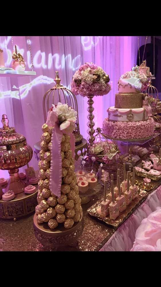 Best Princess Birthday Party Ideas In 2019 Sweets Table This Month