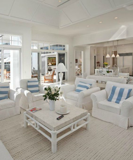 Best 40 Chic Beach House Interior Design Ideas Living Room This Month Original 1024 x 768