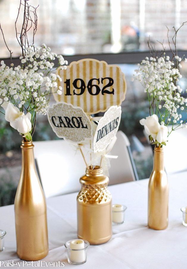 Best 50Th Anniversary Table Decorations Other Decorations This Month