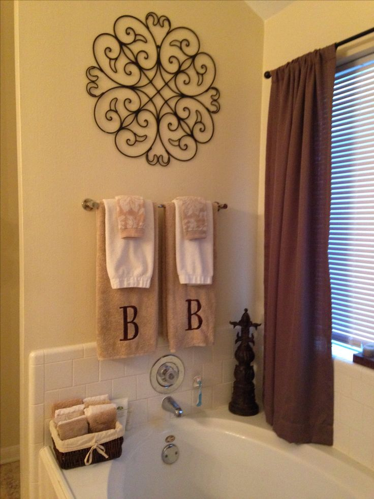 Best How To Decorate A Bathroom Towel Rack This Month