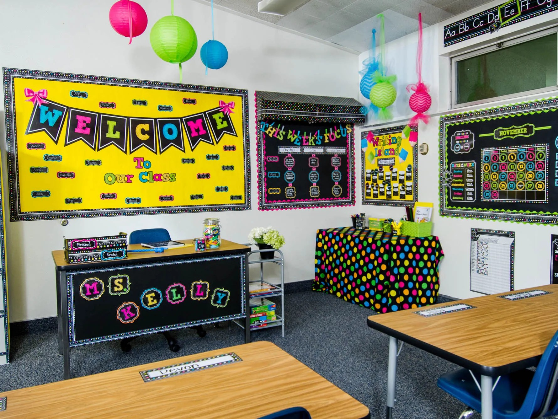 Best Colorful Classrooms The Pediablog This Month