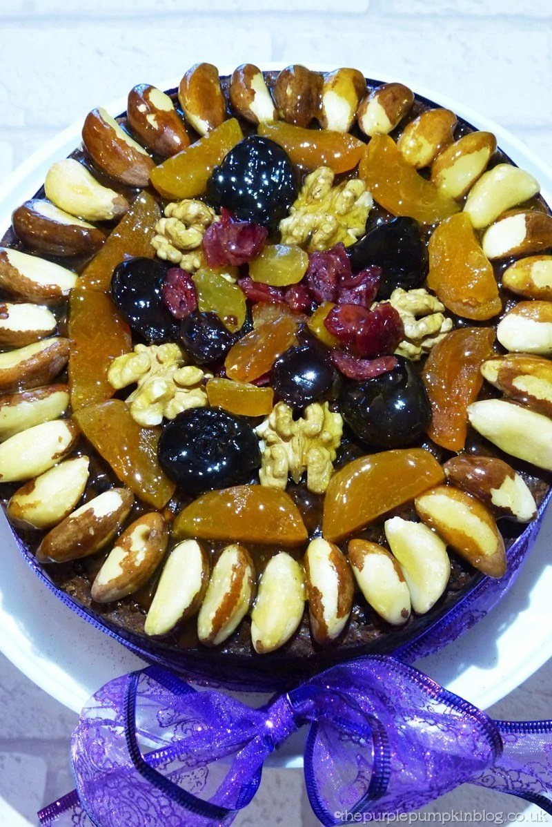 Best Decorating A Christmas Cake With Dried Fruit And Nuts This Month