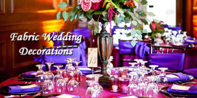 Best Fabric Wedding Decorations Lushes Curtains Blog This Month