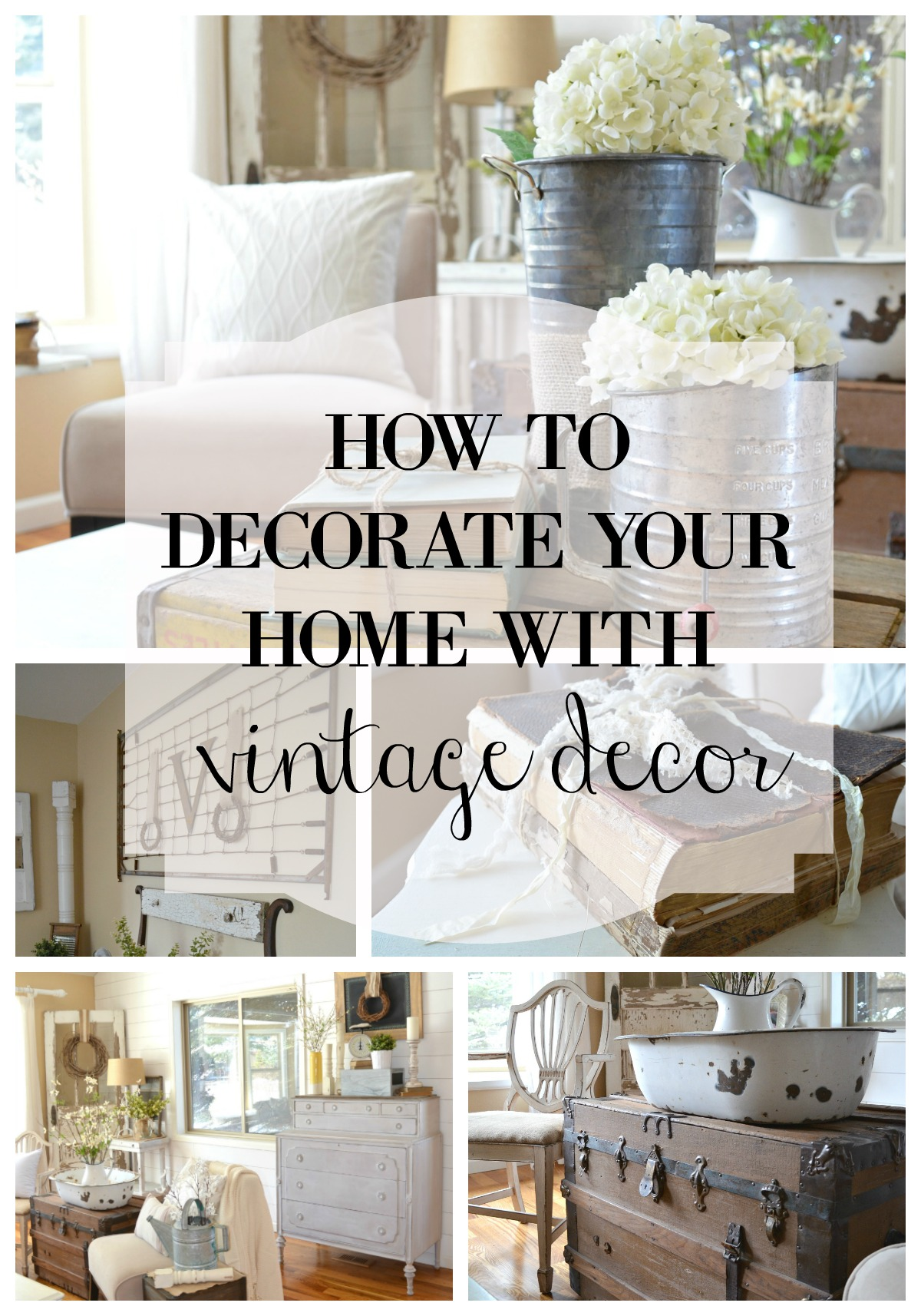 Best How To Decorate With Vintage Decor Little Vintage Nest This Month