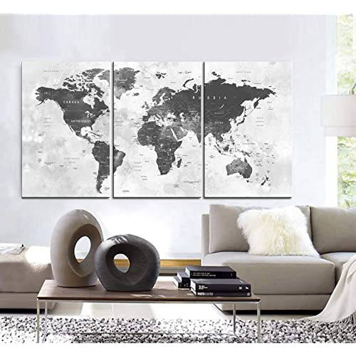 Best World Map Wall Decor Amazon Com This Month