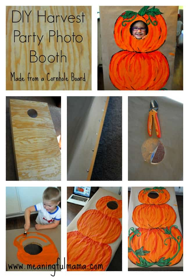 Best Diy Photo Booth For A Harvest Party This Month