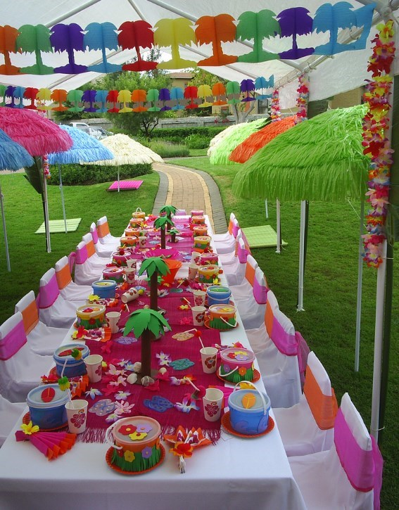 Best Kids Luau Party Ideas From Purpletrail Tropical Birthday This Month