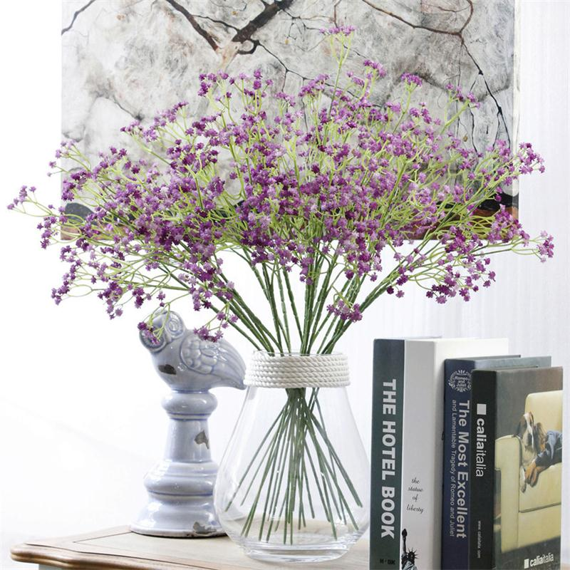 Best Artificial Gypsophila Baby Breath Fake Silk Flowers This Month