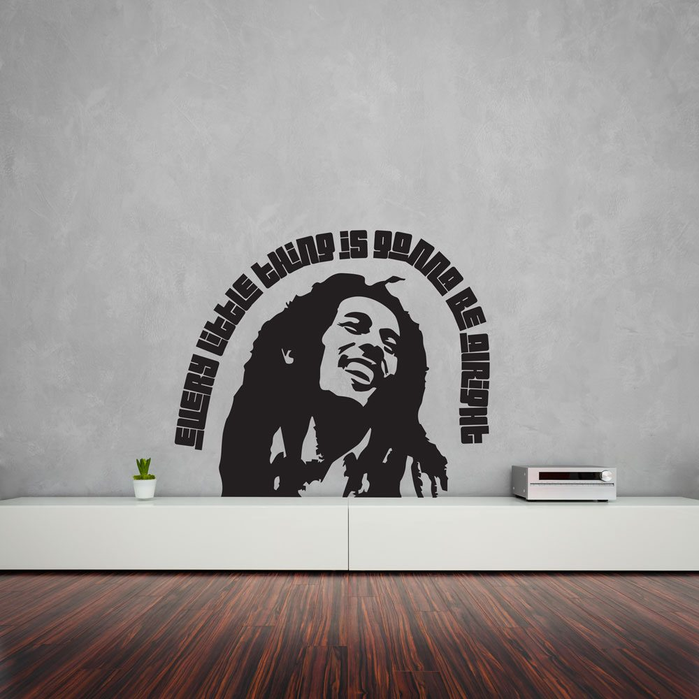 Best Bob Marley Every Little Thing Wall Art Vinyl Revolution This Month