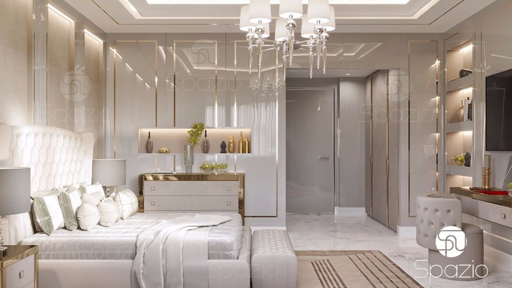 Best Luxury Master Bedroom Interior Design In Dubai 2019 Spazio This Month